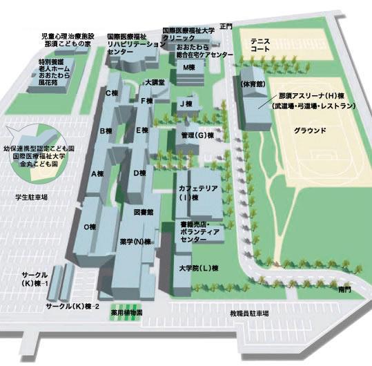大学 国際 キャンパス 大田原 福祉 医療